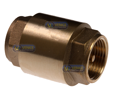 FIG 514 – Brass Spring Loaded Check Valve